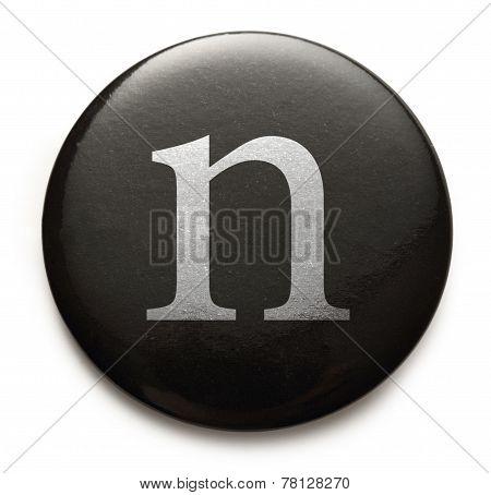 Latin Letter N