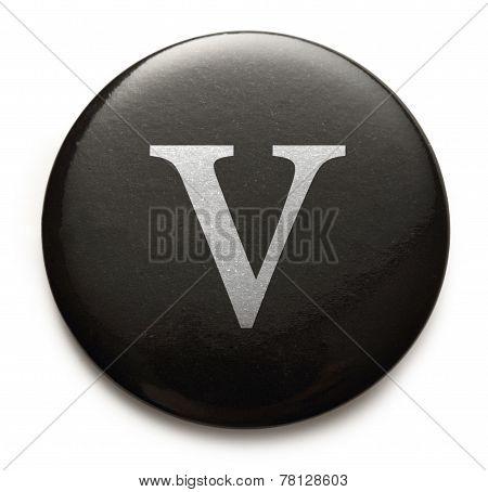 Latin Letter V