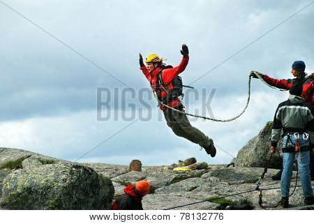 Rope jumping