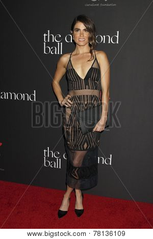 LOS ANGELES - DEC 11:  Nikki Reed at the Rihanna's First Annual Diamond Ball at the The Vineyard on December 11, 2014 in Beverly Hills, CA