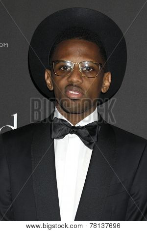 LOS ANGELES - DEC 11:  Fabolous at the Rihanna's First Annual Diamond Ball at the The Vineyard on December 11, 2014 in Beverly Hills, CA