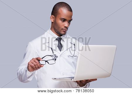 Medical Expert At Work.