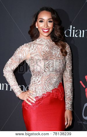 LOS ANGELES - DEC 11:  Laura Govan at the Rihanna's First Annual Diamond Ball at the The Vineyard on December 11, 2014 in Beverly Hills, CA