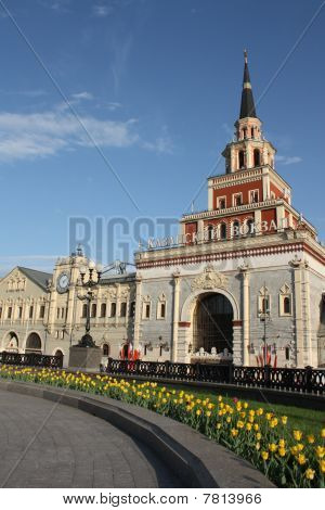 Kazan railway station in Moscow