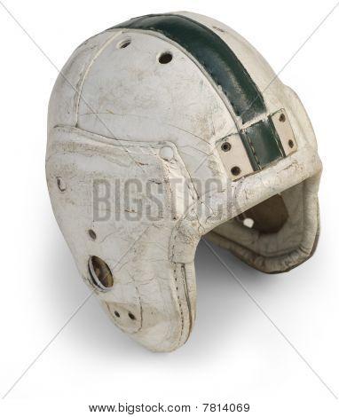 Retro Football Helmet