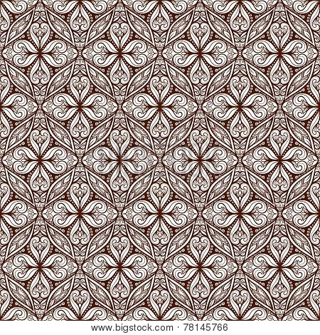 Beautiful Dark Brown Pattern