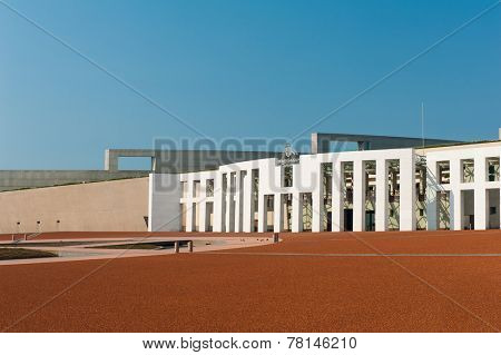 Main entrance to the Parliament of Australia, Canberra