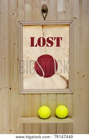 Ad Lost Tennis Ball