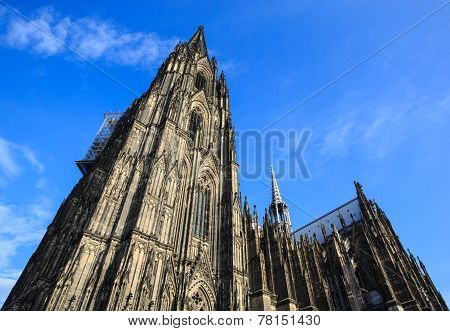 The Dom Church In The City Cologne