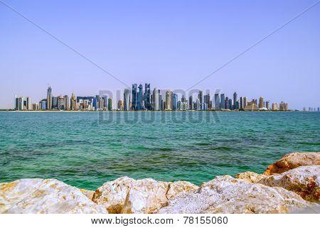 Modern city Doha,Qatar
