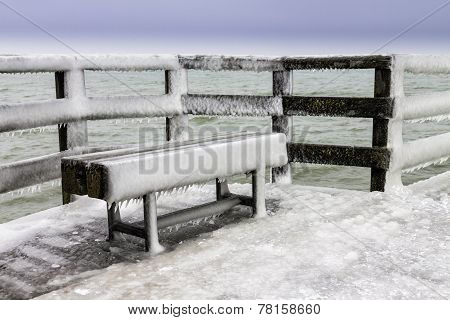 Winter On The Baltic Sea