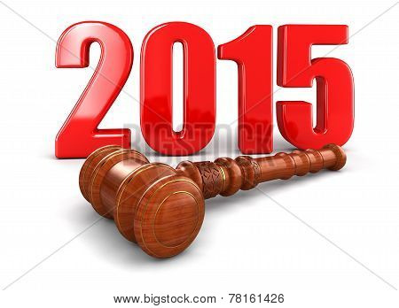 Wooden Mallet and 2015