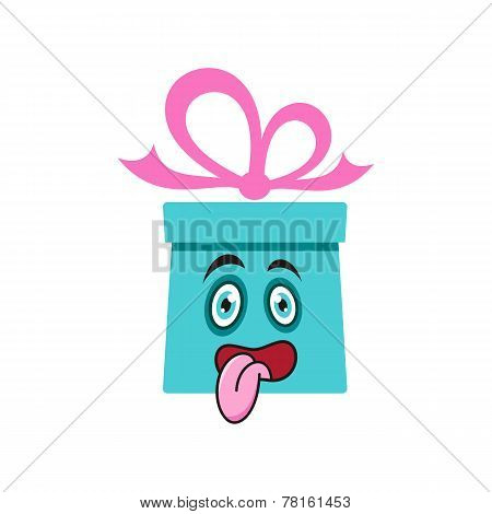 Gift Box Cartoon
