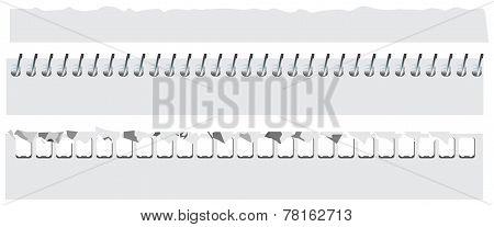Paper binder spiral