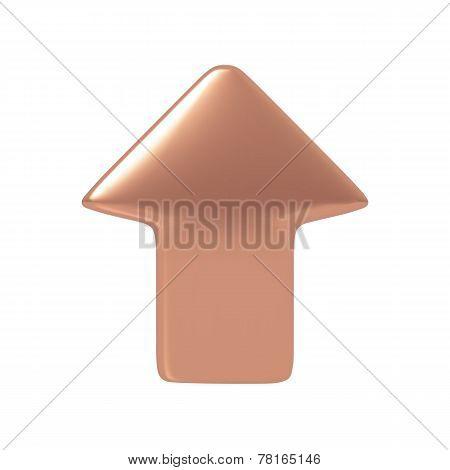 Bronze arrow.