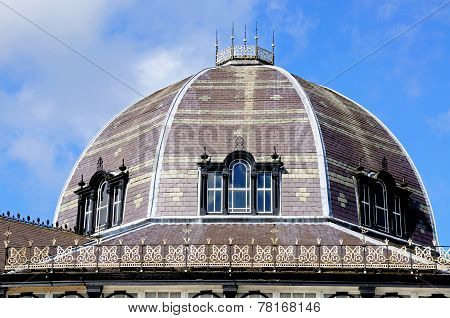 The Octagon Hall Dome, Buxton.