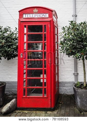 British Red Telephone Kiosk