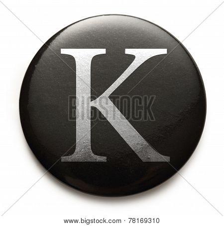 Latin Letter K
