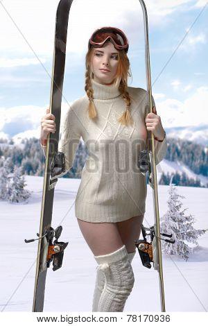 Blond Sport Girl