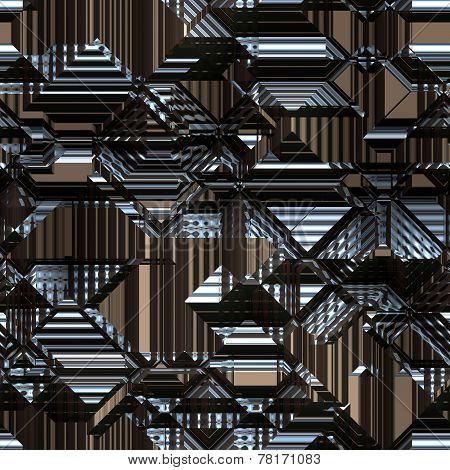Background Pattern Metallic