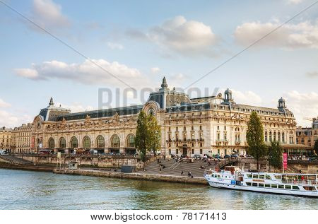 D'orsay Museum In Paris, France