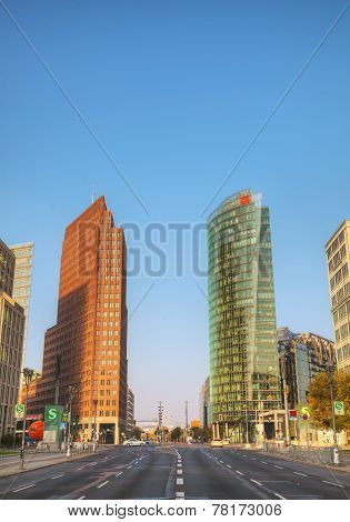 Potsdamer Platz In Berlin, Germany