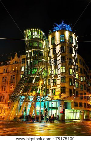 Nationale-nederlanden Building In Prague, Czech Republic