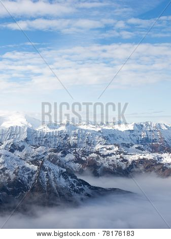 View Of The Alps