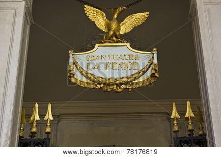 La Fenice Theatre, emblem