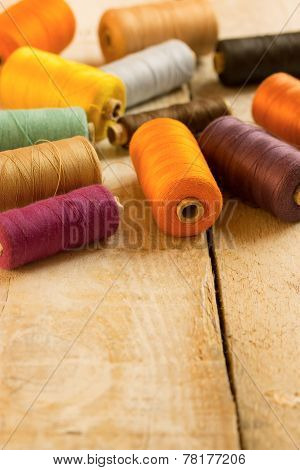 Coloured Bobbins