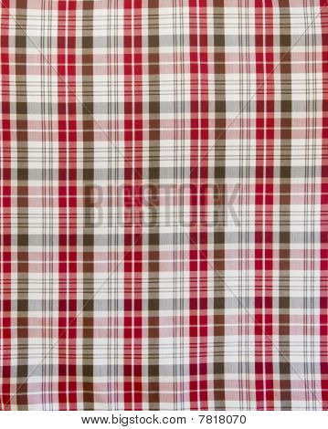 seamless check fabric pattern
