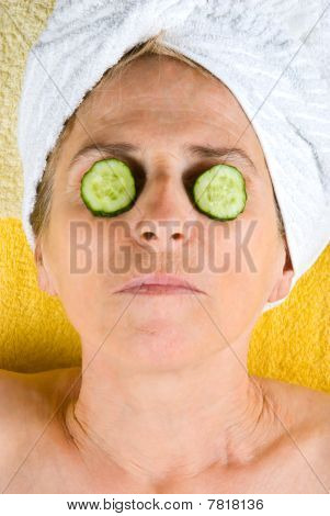 Aged Woman Wellness