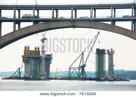 Construction of a bridge