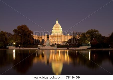 US Capitol at Twilight