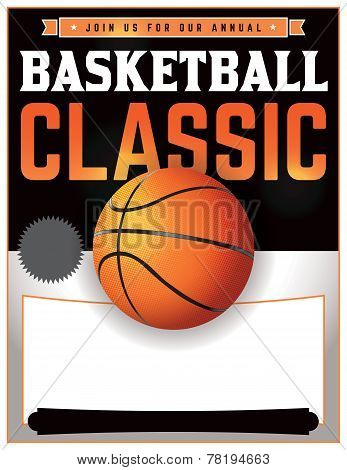Basketball Tournament Illustration