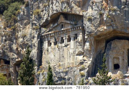 Túmulos de rocha Lykian