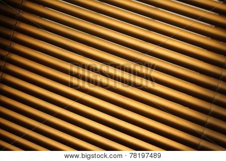 Closed Metal Jalousie Background
