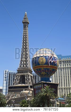 Eiffel Tower at Paris Hotel and Casino