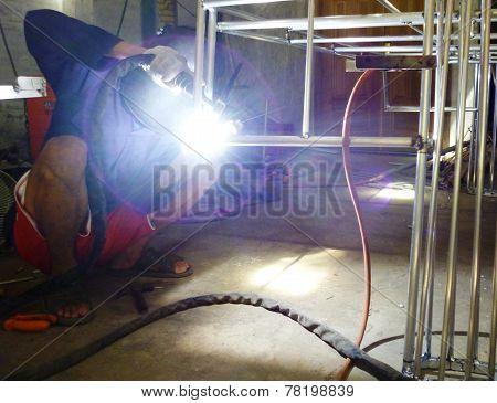 welder activity