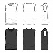 image of vest  - Blank men - JPG