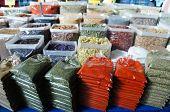 stock photo of abundance  - Christmas abundance in the Turkish Bazaar - JPG