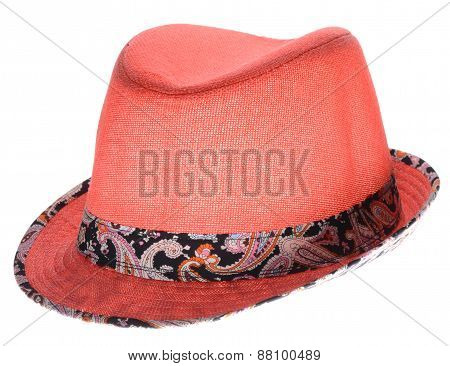 Red Hat With A Brim