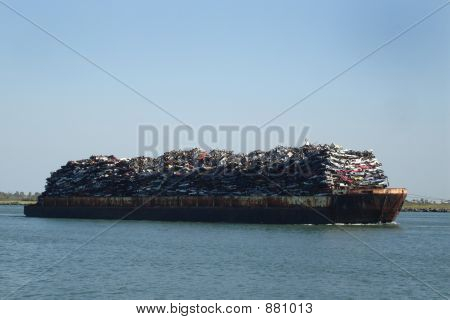 Scrap Barge