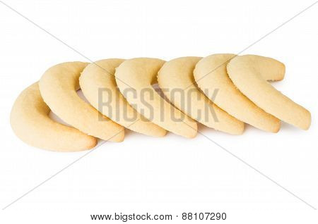 Biscuits In Shape Of Banana
