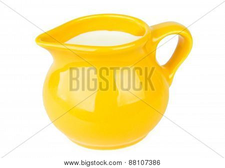 Yellow Milk Jug