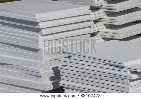 Stack Of Facing Slab