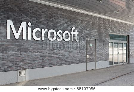 Microsoft Switzerland Office Entrance