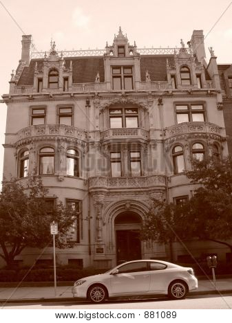 Burrage House Series Sepia Two