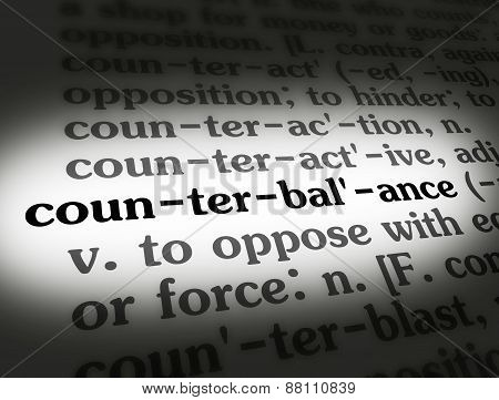 Dictionary Counterbalance