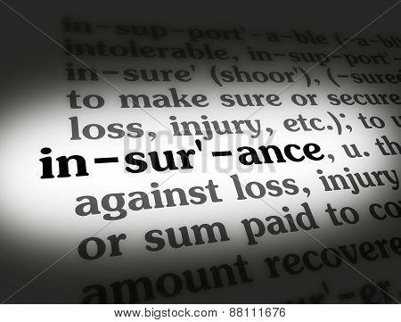 Dictionary Insurance